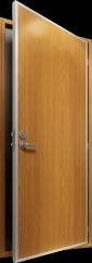Fireproof marine doors