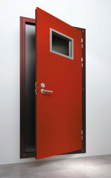 DRShip Europe A-60 fireproof cabin door, noise and air resistant, 40 dB for marine accommodation