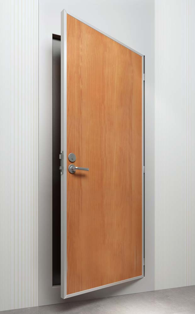 DRShip Europe B-15 fire proof cabin door with top piece for marine accommodation