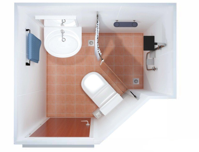 DRShip Europe pre-fabricated sanitary unit Type C for marine accommodations